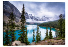Canvas  Moraine Lake - Andreas Kossmann