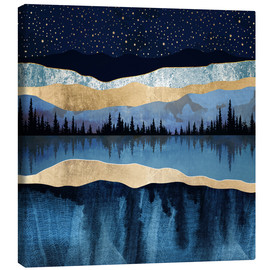 Canvas print  Midnight Lake - SpaceFrog Designs