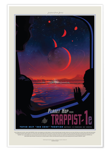 Trappist 1e Posters And Prints Posterlounge Co Uk