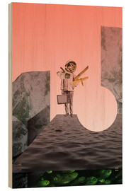 Wood print  atmosphere 5 · Searching for Resources - Marko Köppe