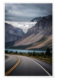 Premium poster Icefields Parkway