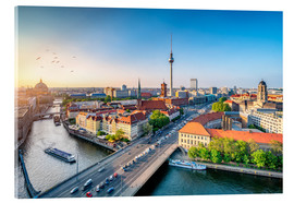 Acrylic print  Berlin Skyline im Sommer - Jan Christopher Becke