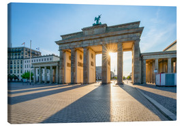 Jan Christopher Becke - The Brandenburg Gate in Berlin