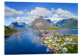 Acrylic print  Norway dream view - Dave Derbis