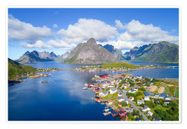 Premium poster  Norway dream view - Dave Derbis