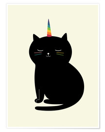 Premium poster  Caticorn - Andy Westface