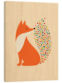 Wood print  Little Fire - Andy Westface