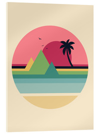 Acrylic print  Tropical Sunset - Andy Westface
