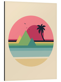 Alu-Dibond  Tropical Sunset - Andy Westface