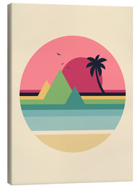 Canvas print  Tropical Sunset - Andy Westface