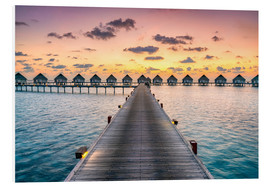 Forex  Romantic sunset in the Maldives - Jan Christopher Becke
