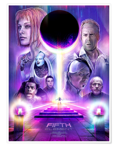 Premium poster The Fifth Element