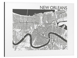 44spaces - City map of New Orleans