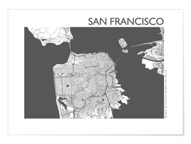 44spaces - City map of San Francisco