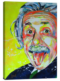 Canvas print  Albert Einstein - Marie-Armelle Borel