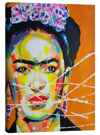 Canvas  Frida Kahlo - Marie-Armelle Borel