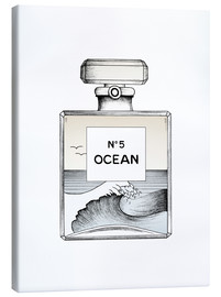 Canvas  Ocean No5  - Barlena