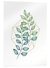 Acrylic glass  Geometry and Nature III  - Barlena
