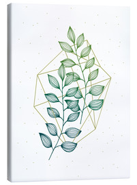 Canvas print  Geometry and nature III - Barlena