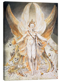 Canvas print  Satan in His Original Glory - William Blake