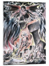 William Blake - jobs sons and daughters overwhelmed by satan