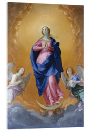 Acrylic print  the Immaculate Conception - Dominikos Theotokopoulos (El Greco)