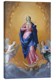 Canvas print  the Immaculate Conception - Dominikos Theotokopoulos (El Greco)