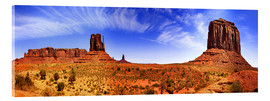 Acrylic print  Monument Valley - fotoping