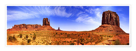 Premium poster Monument Valley