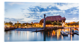 Acrylic glass  Council building in Constance on Lake Constance - Dieterich Fotografie