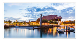 Premium poster  Council in Constance on Lake Constance - Dieterich Fotografie