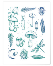 Premium poster Enchanted forest