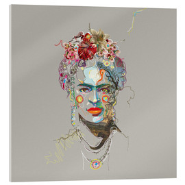 Acrylic glass  Frida Kahlo - Carlos Quitério