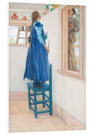 Foam board print  Suzanne and Another - Carl Larsson