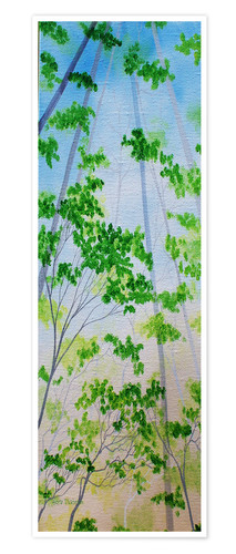 Premium poster Small forest
