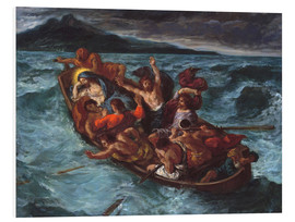 Forex  Christ asleep during the storm - Eugene Delacroix