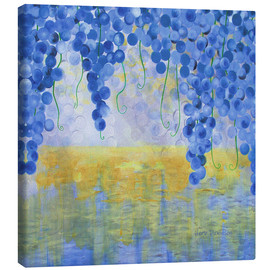Canvas  VINES OVER WATER - Herb Dickinson