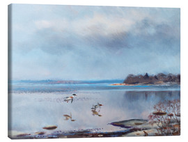 Canvas print  birds by the shore - Bruno Andreas Liljefors