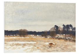 Forex  Fox in the countryside - Bruno Andreas Liljefors
