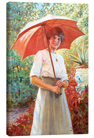 Canvas print  The red umbrella - Jenny Nyström