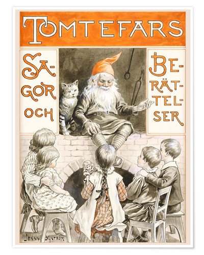 Poster Dwarves fairy tales and stories