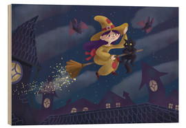 Wood  Little witch - Leonora Camusso
