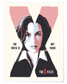 Premium poster Dana Scully, X Files