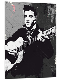 Foam board print  Elvis Presley - 2ToastDesign