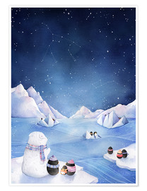 Poster  Stars of the Antarctic - Rebecca Richards