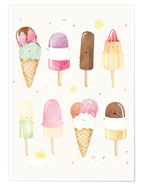 Premium poster  Ice Cream - Rebecca Richards