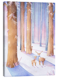 Rebecca Richards - Little deer in the forest