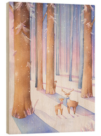 Wood  Little deer in the forest - Rebecca Richards