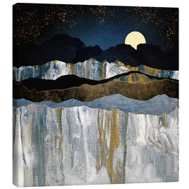 Canvas print  Painted Mountains - SpaceFrog Designs