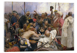 Acrylic print  Reply of the Zaporozhian Cossacks   - Ilya Efimovich Repin